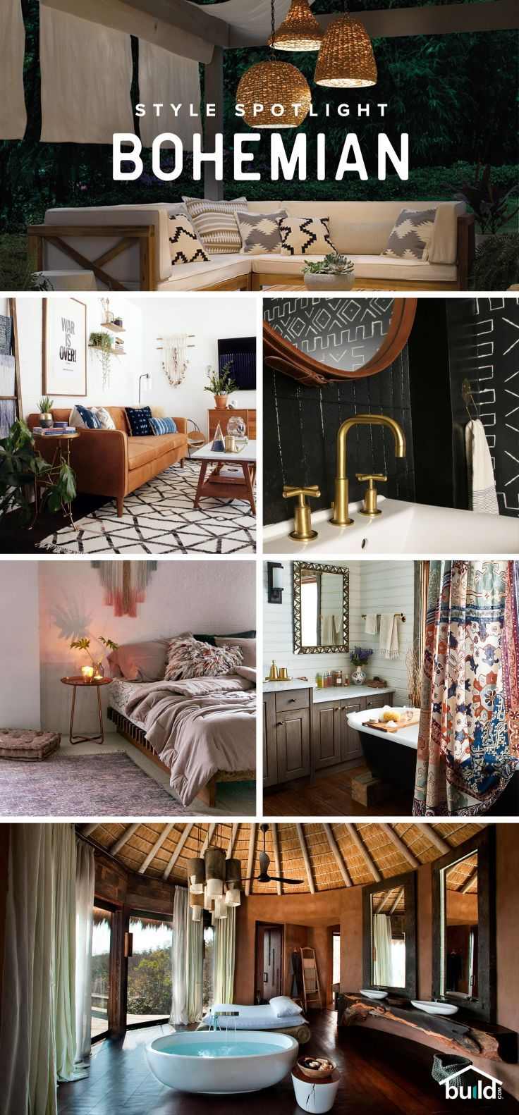 Love Bohemian design? Find the best selection for your project - from floor to ceiling at Build.com