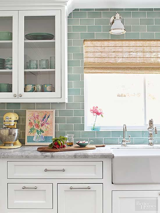 an 80s kitchen makeover thats anything but cookie cutter - Tile In The Kitchen