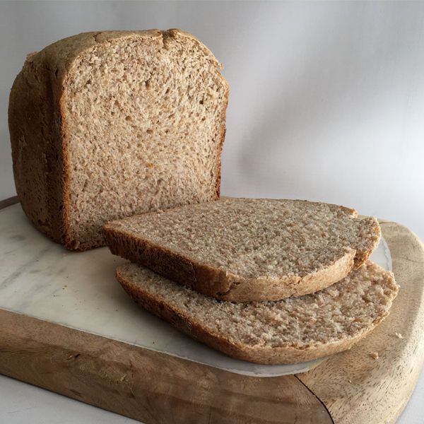 Wholemeal And White 50 50 Bread Machine Loaf Bread Recipes Doves Farm Recipe Chocolate Smoothie Recipes Pizza Recipes Dough Bread