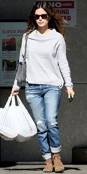 love even her grocery store look!!!