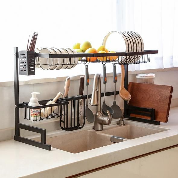 Only 9 9 Stainless Steel Paint Kitchen Drain Cottonsswab In 2020 Kitchen Rack Stainless Steel Paint Kitchen Paint