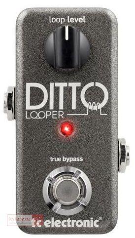 Pořiďte si TC ELECTRONIC Ditto Looper u největšího prodejce hudebních nástrojů. Expedujeme ihned. Vše skladem v e-shopu a na prodejnách. Záruka 3 roky a nejlepší služby.