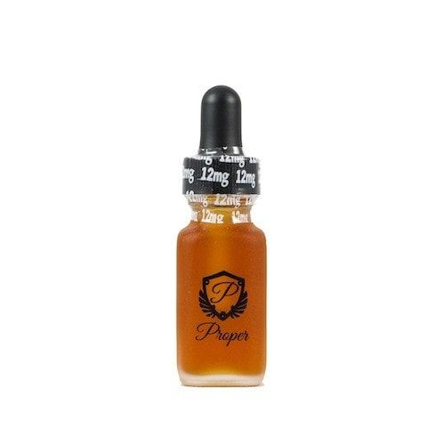 Proper E-Liquid The Black Label 15ml - An exquisite blend of tobaccos enhanced with liquors, accompanied with sweet and creamy custards.90% VGShips from Proper - California