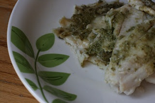 Crockpot fillet of sole with pesto recipe cooking fish for Crockpot fish recipes