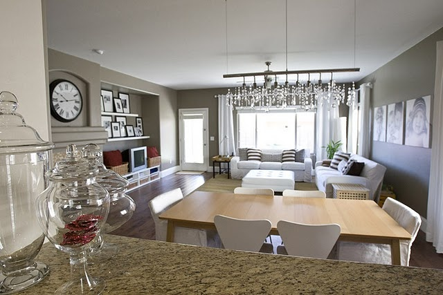 Living Room Dining Room Photos