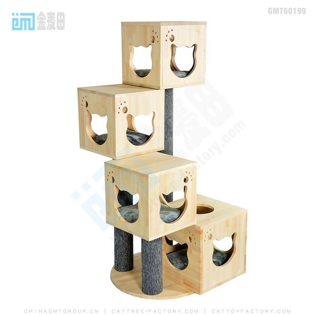 Source 2018 Top Best Selling New Pet Products Design Cat Dog Wooden House Furniture  Cat Tree