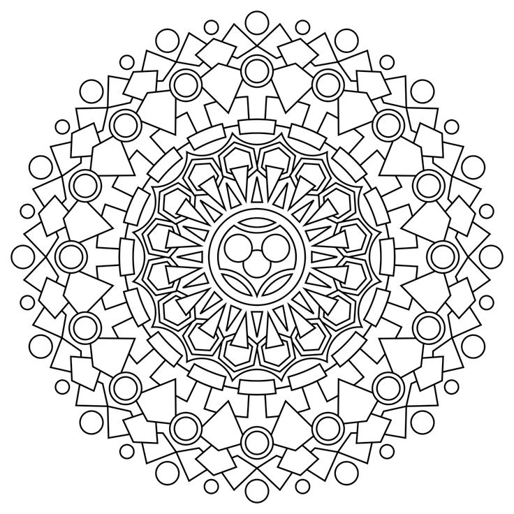 The Mandala Coloring Book Download 627 Best MANDALY Images On Pinterest