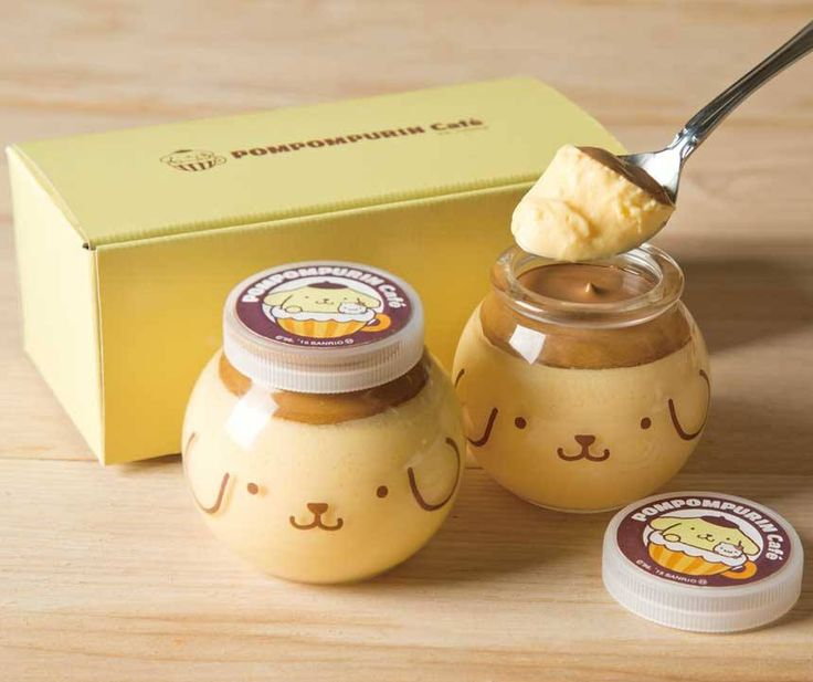 Pom Purin pudding for the packaging smile file : ) PD