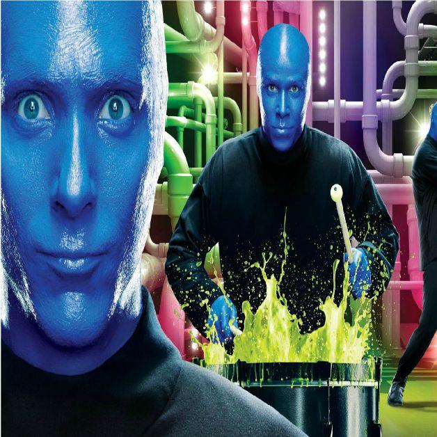 BLUE MAN GROUP AT THE CHARLES PLAYHOUSE