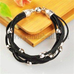 Персонализированные многожильных браслеты для мужчинBJEW-PJB002-3-1