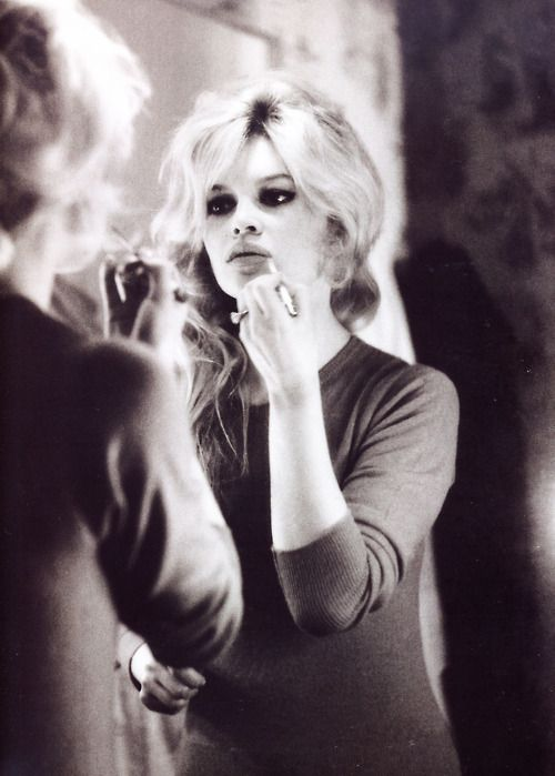 """""""I'm a girl from a good family who was very well brought up. One day I turned my back on it all and became a bohemian."""" Brigitte #Bardot"""