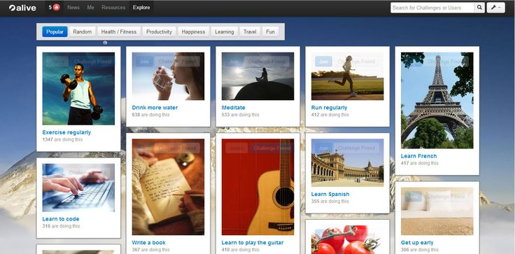 Achieve your personal goals with alive http://www.startupbird.com/achieve-your-personal-goals-with-alive/