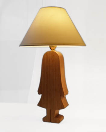 Her Lamp