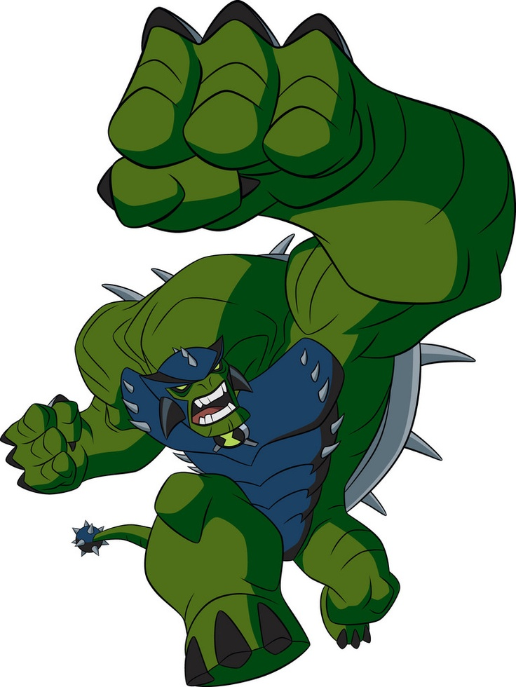 Ultimate Humungousaur on Ben 10: Ultimate Alien.