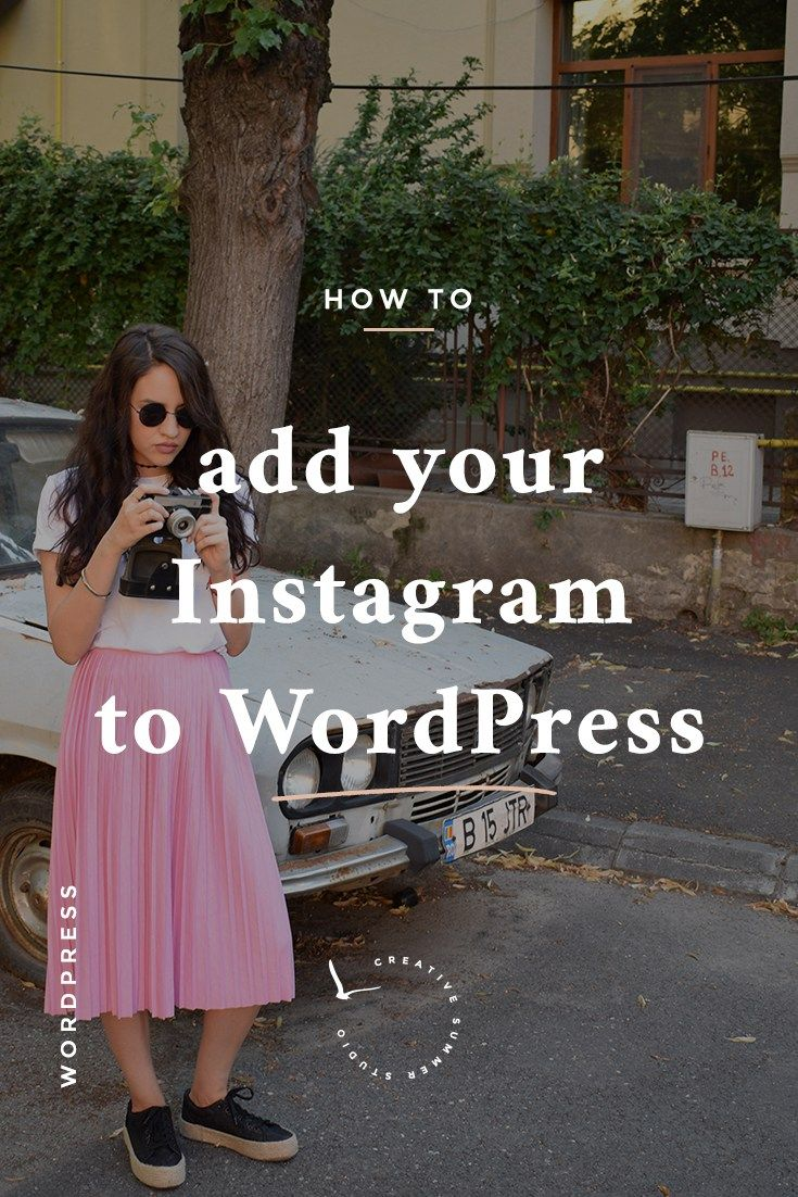 In this article, I'll share with you how to add your Instagram to WordPress to display your latest beautiful pics on your blog also. In this way, your readers will be able to see a preview of your Instagram profile and if they like what they see, they will follow you. It's a win-win situation, your Instagram brings readers to your blog and your blog will bring followers to your Instagram. Learn how to add Instagram to your WordPress blog and have more Instagram followers