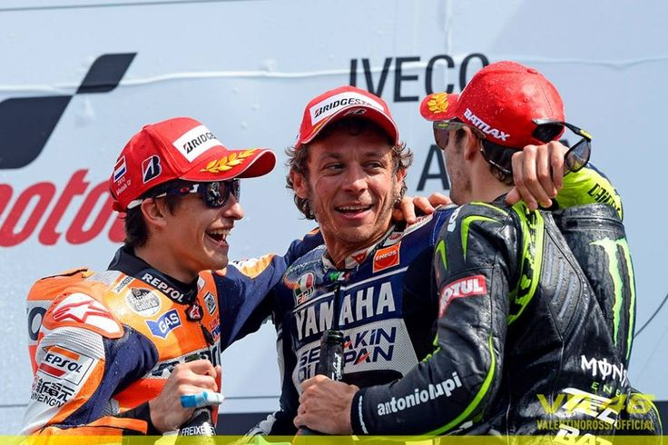 Marquez, Rossi and Crutchlow The Apprentice, the Master and the Craftsman