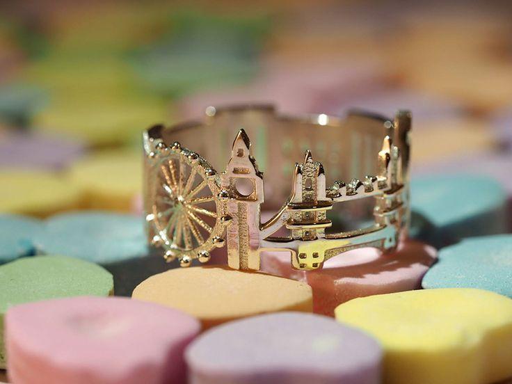 Nos dedos, os pontos turísticos de cidades famosas.