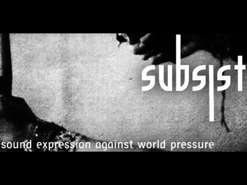 Allan Nonamaka Various Artists Subsist Techno Label