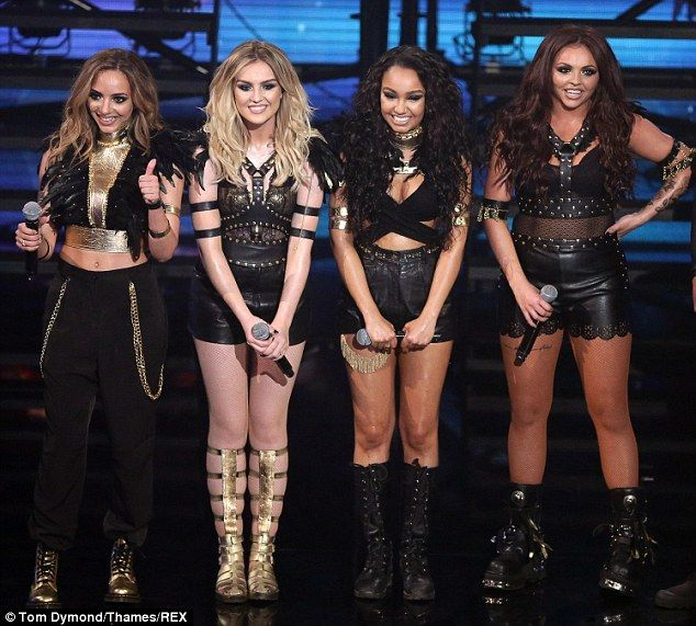 Little Mix these girls are so amazingly gorgeous and talented it's not even funny anymore! I totally support these girls in all they do! ( HUGS) GIRL POWER
