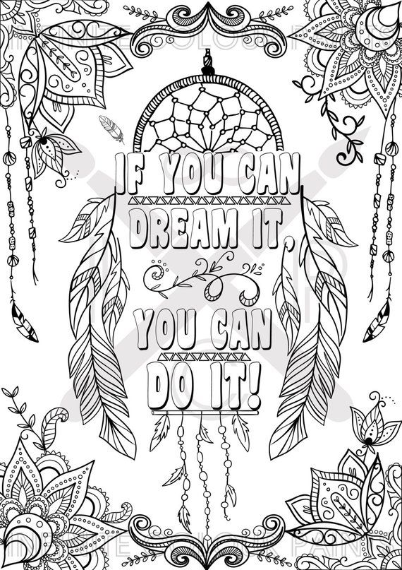 Coloring page Adult coloring Coloring book Printable ...