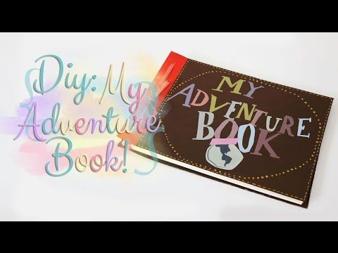 DIY dia dos namorados: My Adventure Book - UP! Altas Aventuras (Ideal para bodas de papel!) - YouTube