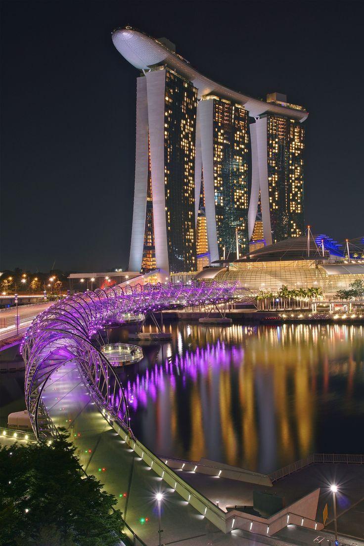 Marina Bay Sands Singapore Singapur Singapur Reise Luxusreisen