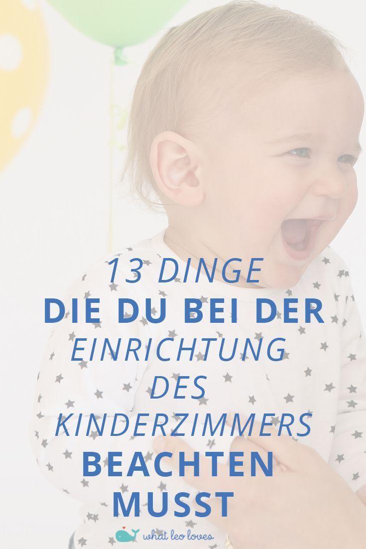 Babyzimmer Junge – 13 Dinge, die du beachten musst