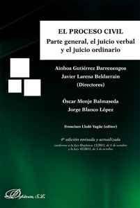 El Proceso Civil.Parte general el juicio verbal y el juicio ordinario @dykinsonlibros http://ift.tt/1QLGXos