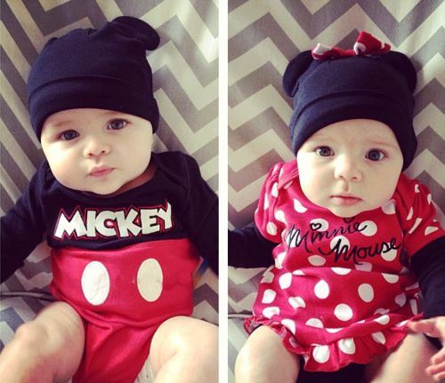 mickey and minnie twin halloween costumes - Baby Twin Halloween Costumes