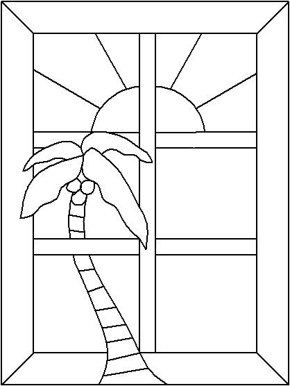Easy Stained Glass Patterns   Free Miscellaneous Patterns For Stained Glass