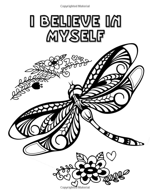 Butterflies Mandalas An Adult Coloring Book With Affirmations Transcendental Coloring Books Volume 1