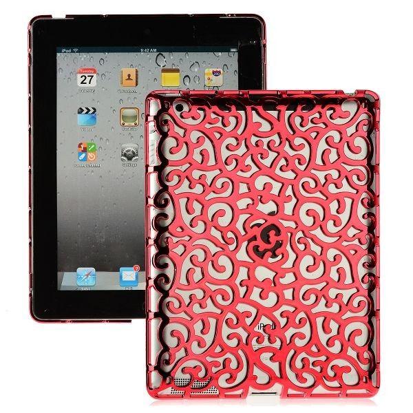Rose Lines (Rød) iPad 3 Deksel