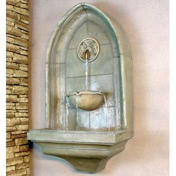 i love water features and want them all over at my house indoor wall