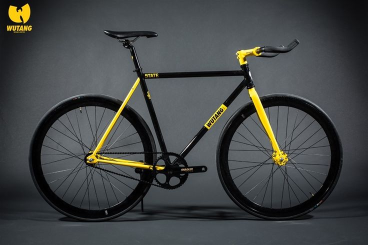 Wu Tang Brand - 20th Anniversary Ltd. Edition Bike  Fixed Gear Bicycle   State Bicycle Co. >>> Enter the 36 chambers by bike!