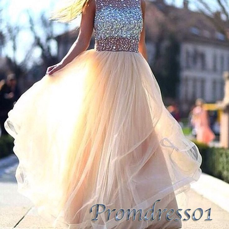 Prom dress 2016, Sexy sequins sweetheart neckline long senior prom dress for…