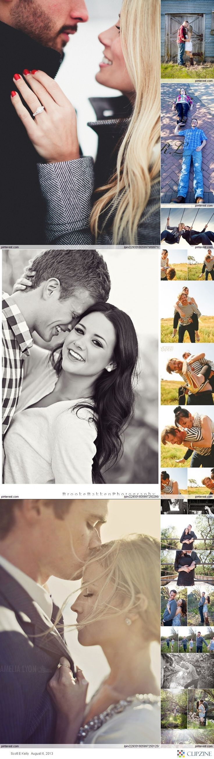 Poses: Couples/Engagement | these are probably the best I've seen