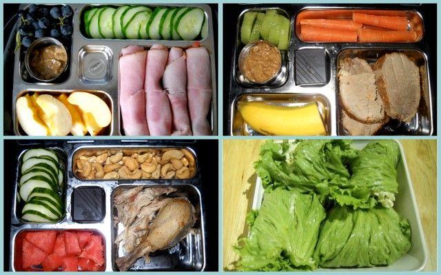 paleo lunch box ideas. #paleo, #food, #lunch