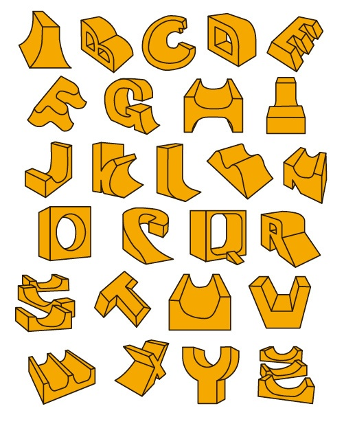 1000+ images about Alphabets from A to Z on Pinterest | Typography ...