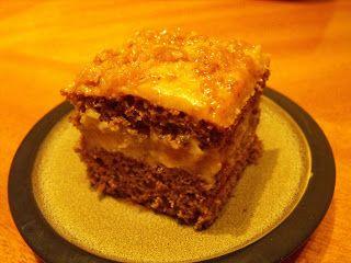 Ildikó receptjei: Kávés- grillázsos sütemény