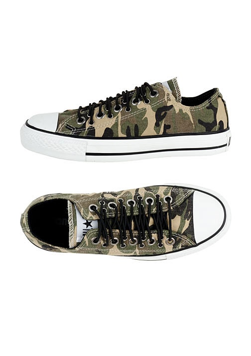 CAMO converse;) ARIEL I SAW THESE AT PAYLESS