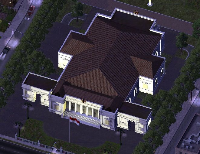 Istana Negara Republik Indonesia - SimCity 4 Buildings - Simtropolis