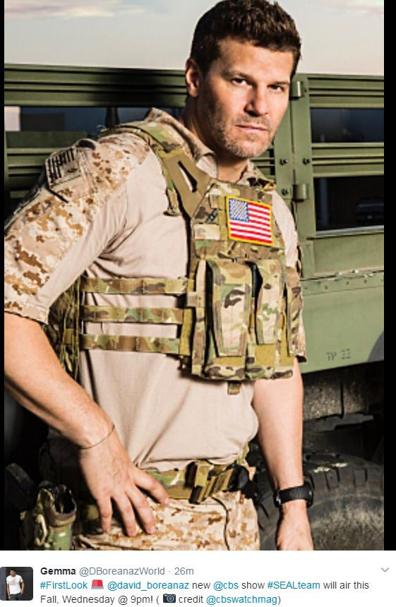 David Boreanaz - Seal Team