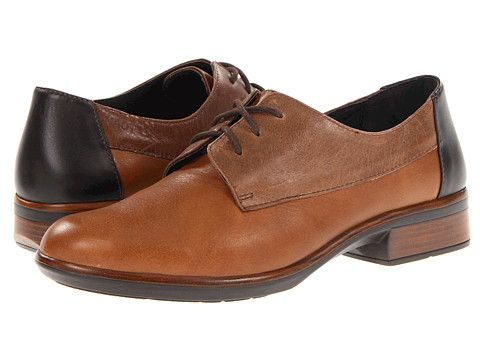 Naot Footwear Kedma Chestnut/Hazelnut/Roast Leather - 6pm.com