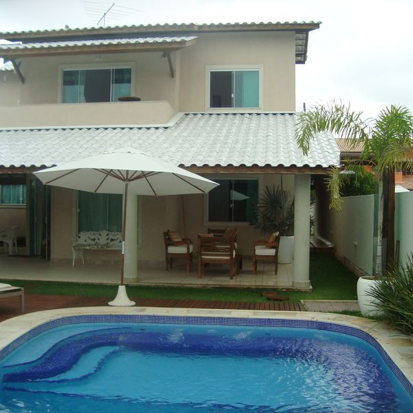Vacation House In Barra Do Jacuipe House Pool Swimming Pools Backyard