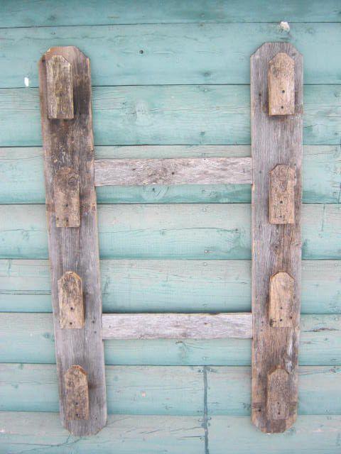 4 ft. x 2 ft. gun rack made from barn wood
