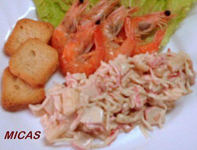 Salada de Caranguejo com Ananás
