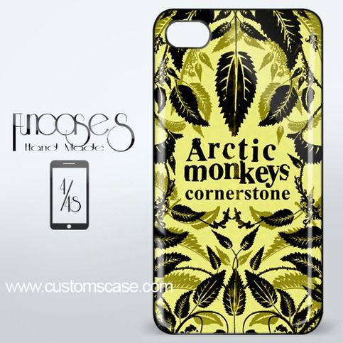 Arctic Monkeys Cornerstone iPhone 4 or 4S Case Cover