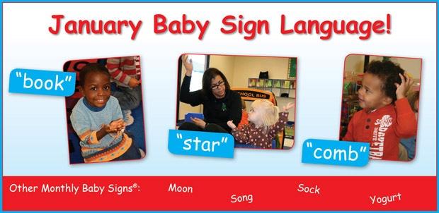 Baby sign for yogurt