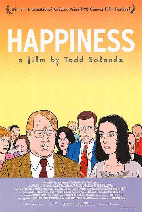 HAPPINESS is a great movie!Movie Posters, Cintas Film, Picture-Black Posters, Daniel Clow, Todd Solondz, Happiness, Film Posters, Favorite Movie, Happy 1998