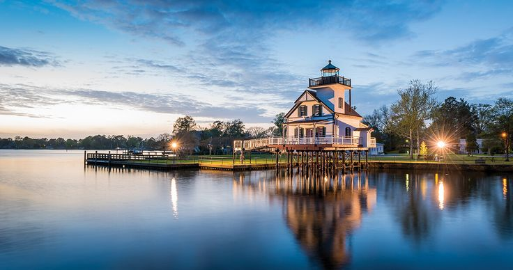 The accolades for this town keep coming. See for yourself why Edenton is one of the nation's prettiest small towns by planning a day trip.